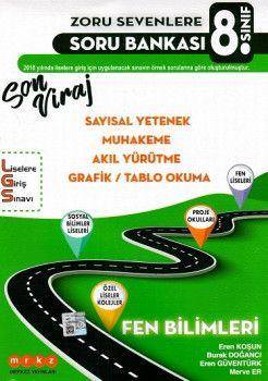 Merkez Yayınları 8. Sınıf LGS Fen BilimleriSon Viraj Zoru Sevenlere Soru Bankası