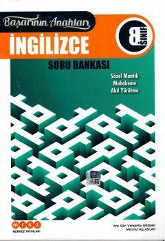 Merkez Yayınları 8. Sınıf İngilizce Başarının Anahtarı Soru Bankası