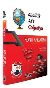 Merkez Yayınları AYT Coğrafya Analitik Konu Anlatımı