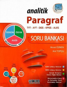 Merkez Yayınları Analitik Paragraf Soru Bankası