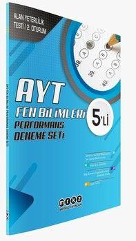 Merkez Yayınları AYT Fen Bilimleri 5 li Performans Deneme Seti