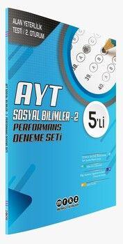 Merkez Yayınları AYT Sosyal Bilimler 2 5 li Performans Deneme Seti