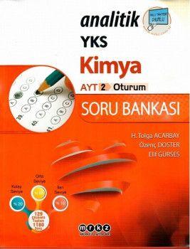 Merkez Yayınları AYT Kimya Analitik Soru Bankası