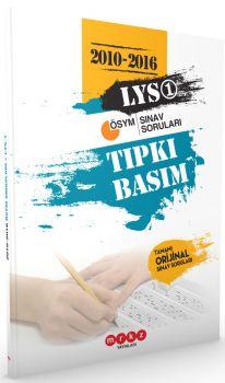 Merkez Yayınları LYS 1 Tıpkı Basım  2010-2016 Çıkmış Sınav Soruları