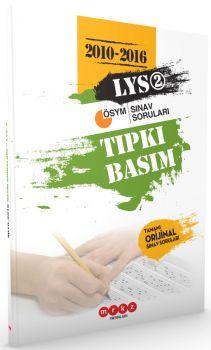 Merkez Yayınları LYS 2 Tıpkı Basım  2010-2016 Çıkmış Sınav Soruları