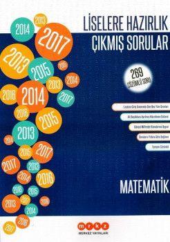 Merkez Yayınları Liselere Hazırlık Matematik 269 Çözümlü Çıkmış Sorular