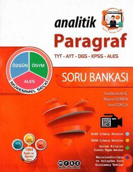 Merkez Yayınları Paragraf Analitik Soru Bankası