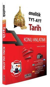 Merkez Yayınları TYT AYT Tarih Analitik Konu Anlatımı