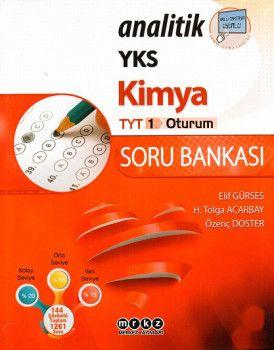 Merkez Yayınları TYT Analitik Kimya Soru Bankası