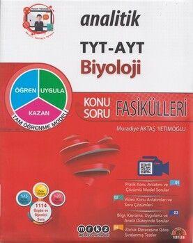 Merkez Yayınları TYT AYT Analitik Biyoloji Konu Soru Fasikülleri