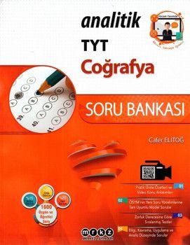 Merkez Yayınları TYT Coğrafya Analitik Soru Bankası