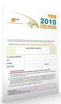 Merkez Yayınları YGS 2010 ÖSYM Tıpkı Basım Deneme