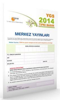 Merkez Yayınları YGS 2014 ÖSYM Tıpkı Basım Deneme