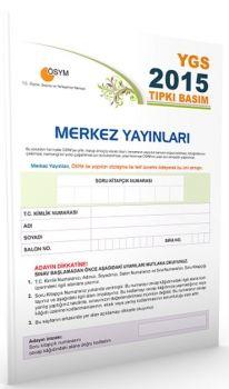 Merkez Yayınları YGS 2015 ÖSYM Tıpkı Basım Deneme