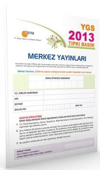 Merkez Yayınları YGS 2013 ÖSYM Tıpkı Basım Deneme