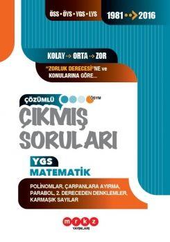 Merkez Yayınları YGS Matematik Polinomlar Çarpanlara Ayırma Çözümlü Çıkmış Sorular 1981-2016