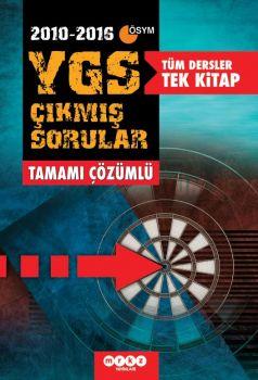 Merkez Yayınları YGS Tüm Dersler Tek Kitap Tamamı Çözümlü Çıkmış Soru Bankası