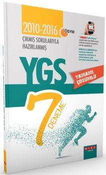 Merkez Yayınları YGS Çıkmış Sorularıyla Hazırlanmış Tamamı Çözümlü 7  Deneme Sınavı