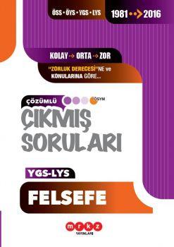 Merkez Yayınları YGS LYS Felsefe Çözümlü Çıkmış Sorular 1981 ? 2016