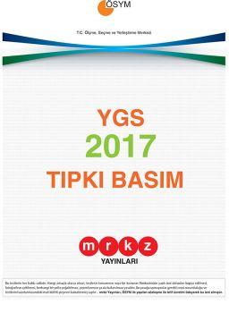 Merkez Yayınları YGS 2017 Tıpkı Basım Deneme Sınavı