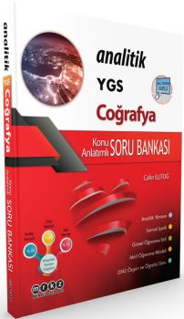 Merkez Yayınları YGS Analitik Coğrafya Konu Anlatımlı Soru Bankası
