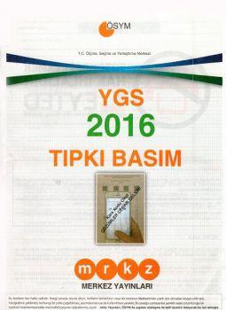Merkez Yayınları YGS 2016 Tıpkı Basım Deneme Sınavı