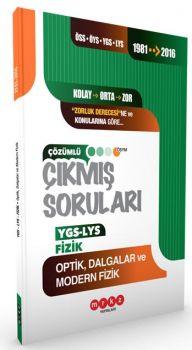 Merkez Yayınları YGS LYS Fizik Optik Dalgalar ve Modern Fizik 1981 2016 Çıkmış Soruları
