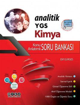 Merkez Yayınları YGS Analitik Kimya Konu Anlatımlı Soru Bankası