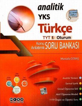 Merkez Yayınları YKS 1. Oturum TYT Analitik Türkçe Konu Anlatımlı Soru Bankası
