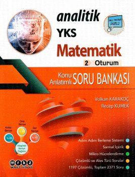 Merkez Yayınları YKS 2. Oturum Analitik Matematik Konu Anlatımlı Soru Bankası