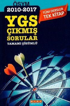 Merkez Yayınları YGS Tüm Dersler Tek Kitap Tamamı Çözümlü Çıkmış Sorular 2010 - 2017