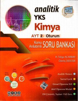 Merkez Yayınları YKS 2. Oturum AYT Analitik Kimya Konu Anlatımlı Soru Bankası