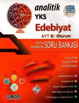Merkez Yayınları YKS 2. Oturum AYT Analitik Edebiyat Konu Anlatımlı Soru Bankası