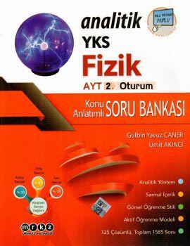 Merkez Yayınları YKS 2. Oturum AYT Analitik Fizik Konu Anlatımlı Soru Bankası
