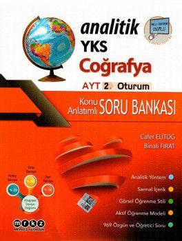 Merkez Yayınları YKS 2. Oturum AYT Analitik Coğrafya Konu Anlatımlı Soru Bankası