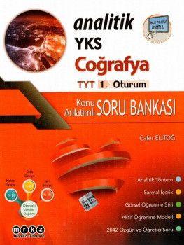 Merkez Yayınları YKS 1. Oturum TYT Coğrafya Konu Anlatımlı Soru Bankası