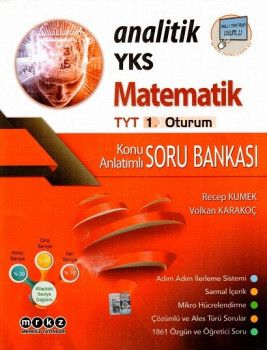 Merkez Yayınları YKS 1. Oturum TYT Matematik Konu Anlatımlı Soru Bankası