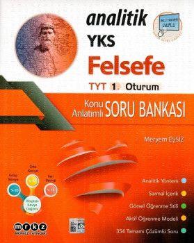 Merkez Yayınları YKS 1. Oturum TYT Analitik Felsefe Konu Anlatımlı Soru Bankası