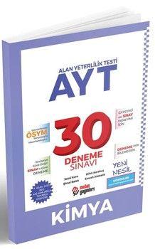 Metin Yayınları AYT Kimya 30 Deneme Sınavı