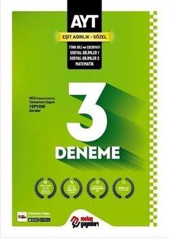 Metin Yayınları AYT Eşit Ağırlık Sözel 3 Deneme