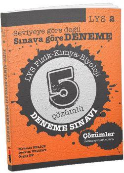 Metin Yayınları LYS 2 Fizik Kimya Biyoloji 5 Çözümlü Deneme Sınavı