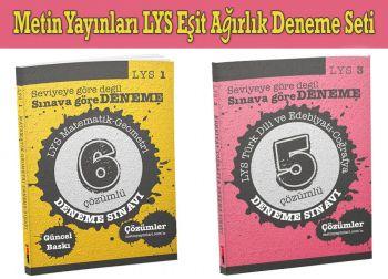 Metin Yayınları LYS Eşit Ağırlık Deneme Seti