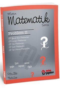 Metin Yayınları Problem 2 Matematik Serisi Kampanyalı