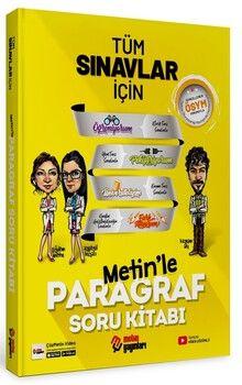 Metin Yayınları Tüm Sınavlar İçin Paragraf Soru Kitabı