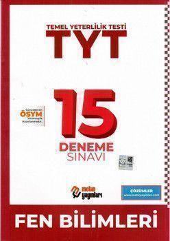 Metin Yayınları TYT Fen Bilimleri 15 Deneme Sınavı