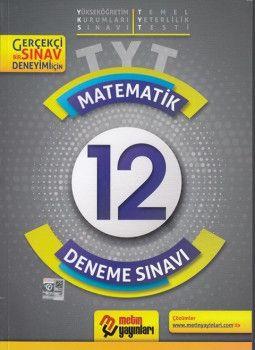 Metin Yayınları TYT Matematik 12 Deneme Sınavı