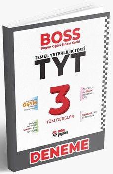 Metin Yayınları TYT Tüm Dersler BOSS 3 Deneme