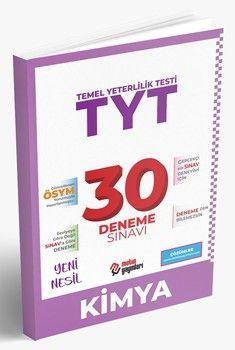 Metin Yayınları TYT Kimya 30 Deneme Sınavı