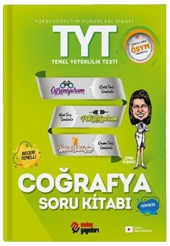 Metin Yayınları TYT Coğrafya Soru Kitabı