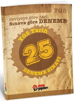 Metin Yayınları YGS Tarih 25 Deneme Sınavı